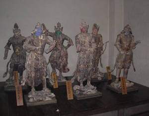 木造 十二神将立像伊勢原の指定文化財