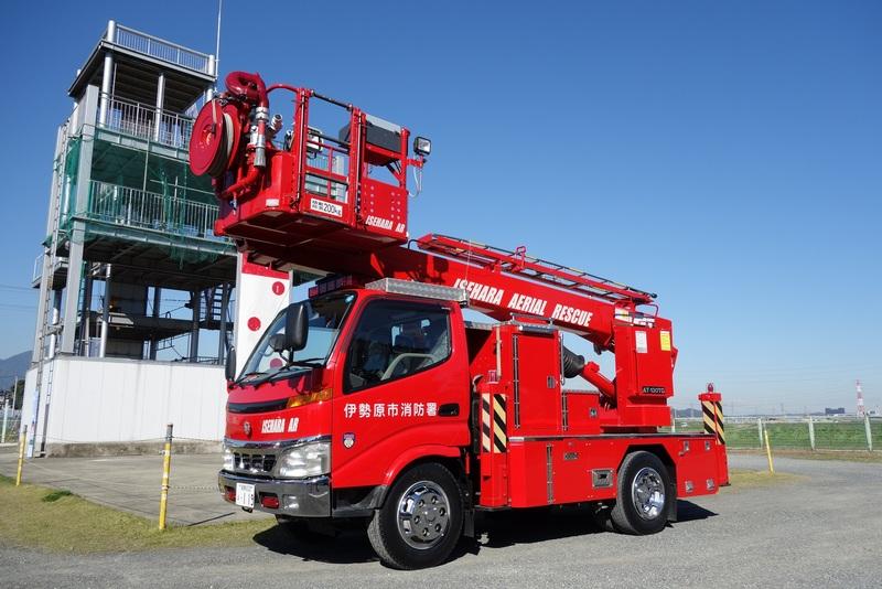 13メートル高所救助車 | 伊勢原市